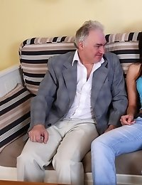 Zarina's boyfriend will certainly appreciate his woman getting fucked by another man when he gets her home and finds out she can really suck cock