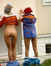 Wicked teens outdoors