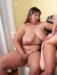 Maria never thought about lesbian sex before. That is until she and her friend met this older lesbian who taught them how to lick pussy and have a goo