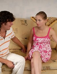 Teen bangs with her BF