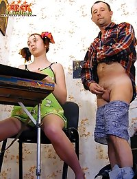 Teen girl seduced