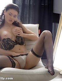 Harper is a cute girl that lives next door and loves playing hard to get. I chased her for months, calling and texting like a loser, but she finally l