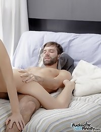 Julie's boyfriend loves getting blown. He can never have sex without having his cock sucked. So Julie sucked him real good knowing he will return
