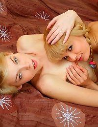 Playful blondes